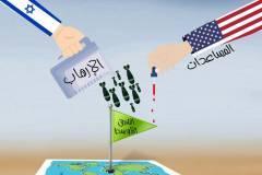 كاريكاتير / مساعدات إسرائيل وأمريكا في الشرق الأوسط