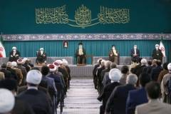 Ayatollah Khamenei meets with Iranian officials, guests of Islamic Unity Conference