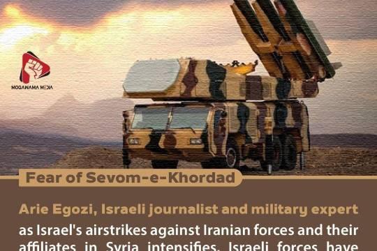 Fear of Sevom-e-Khordad